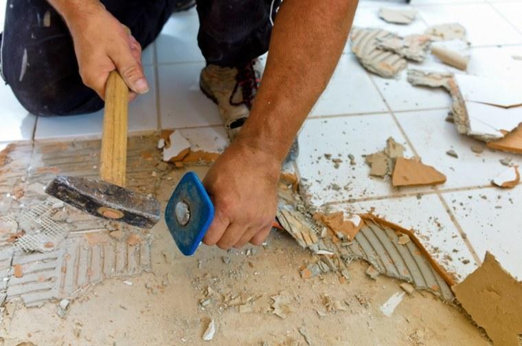 cambiar revestimientos azulejos suelo
