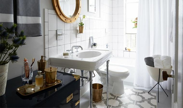 Ba o peque o 38 ambientes ntimos y modernos - Disenar un bano pequeno ...