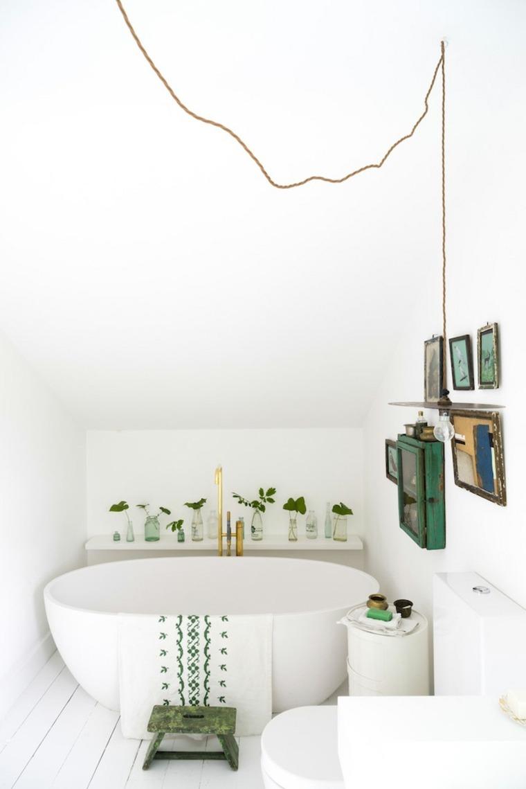 bano pequeno diseno techo abovedado ideas
