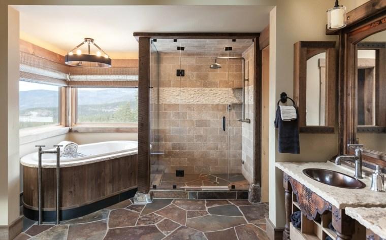 Baños Rusticos En Piedra:Baños rústicos modernos de piedra para el interior de vuestra casa