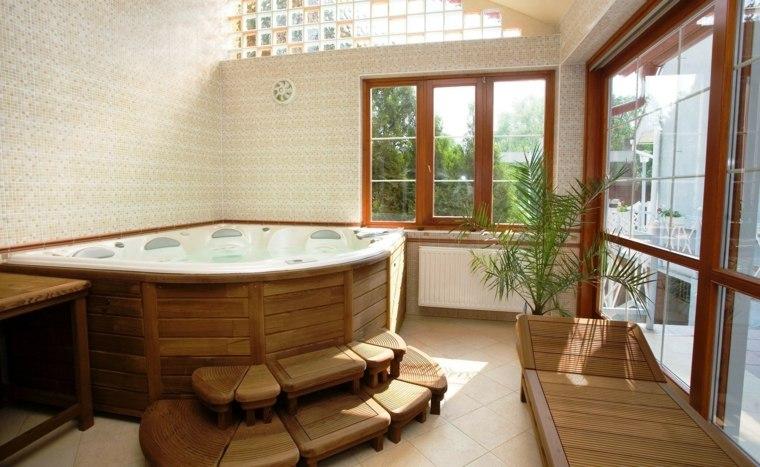 baños rústicos modernos para el interior y el exterior - - Imagenes De Banos Rusticos Modernos