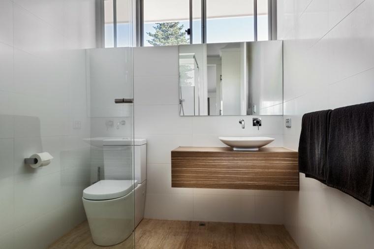 bonito diseno lavabo madera