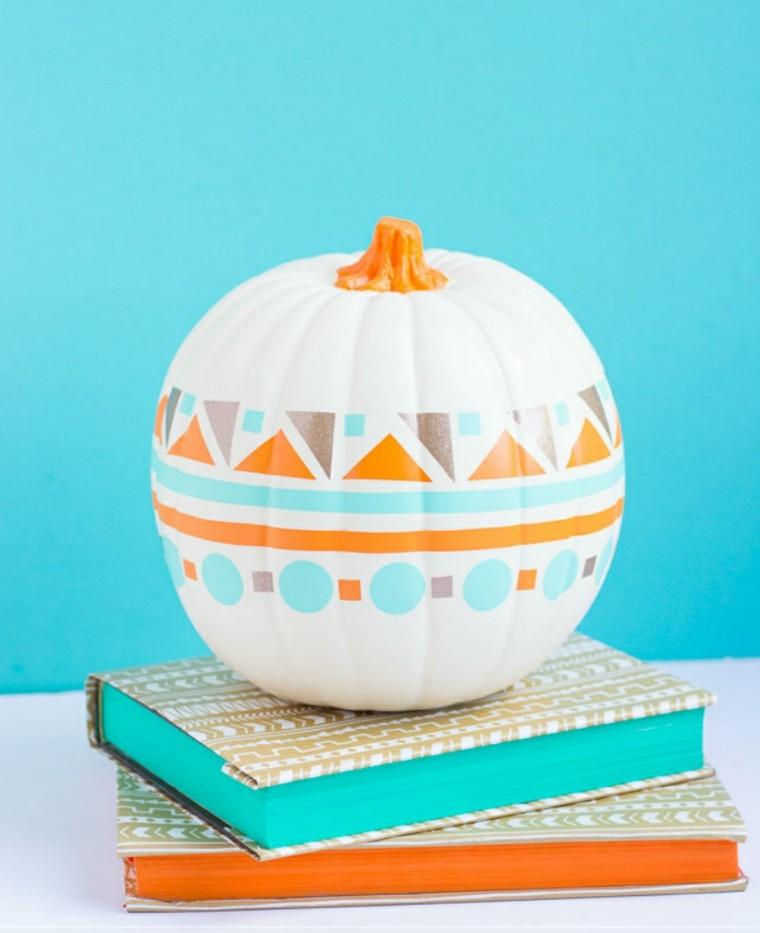 Calabazas sin tallar para este halloween 42 ideas - Disenos de calabazas ...