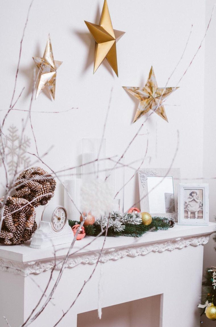 blanca navidad decoracion moderna interior ideas