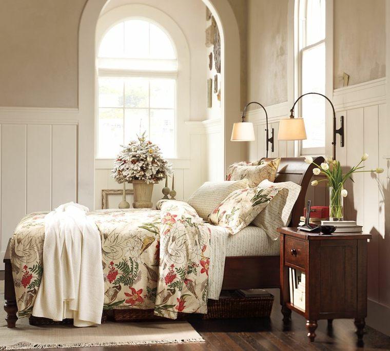 blanca navidad decoracion moderna opcoines dormitorio ideas