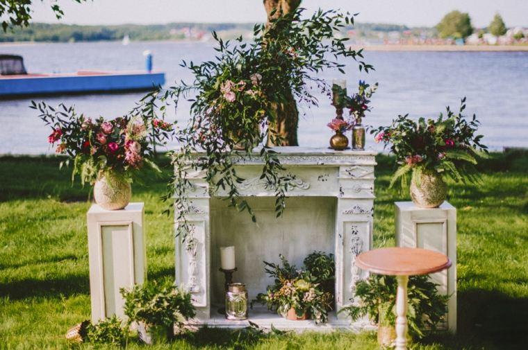 Bodas vintage decoraci n original para tu d a especial for Decoracion de jardin al aire libre