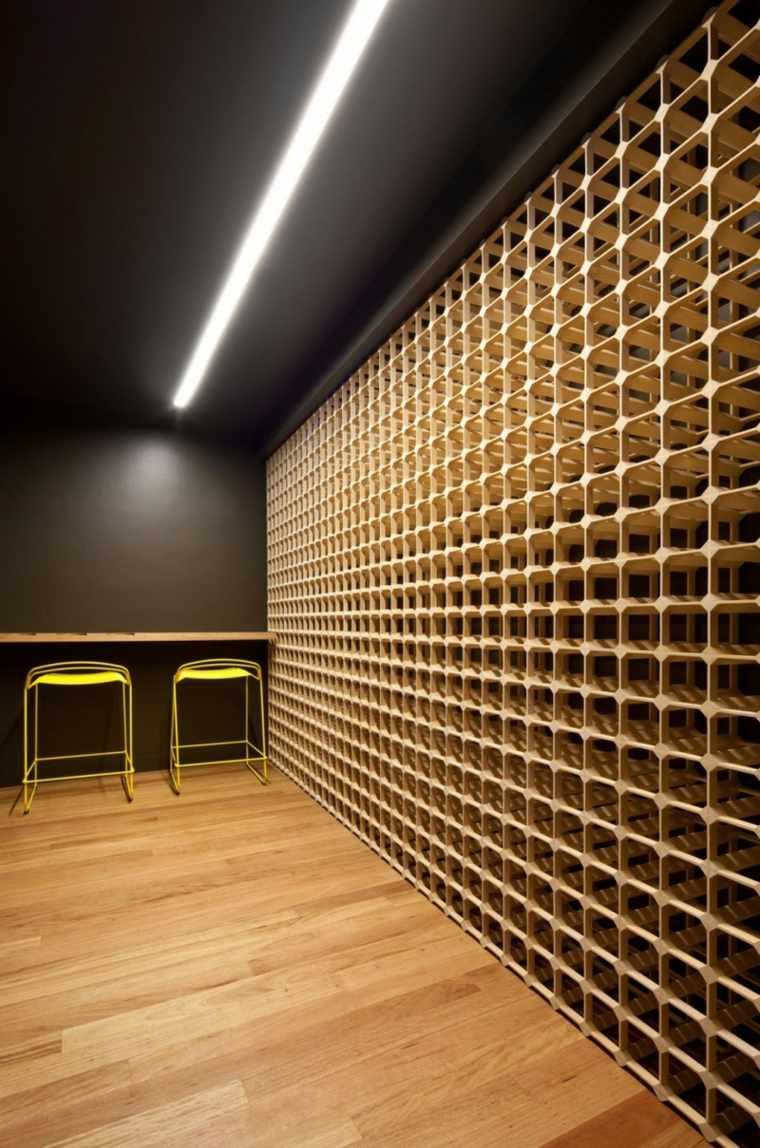 bodegas almacenamiento pared estilos suelos