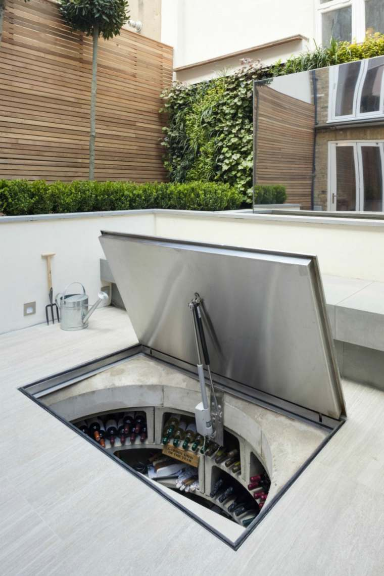 bodegas modernas conceptos patios diferente