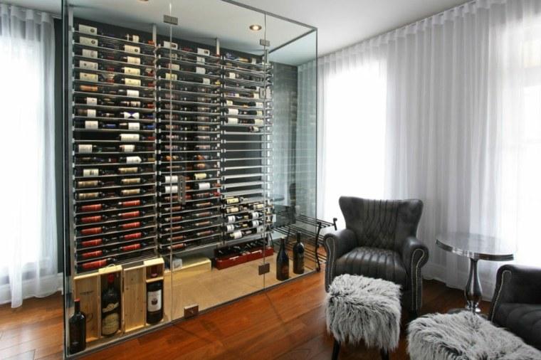bodegas salones elegantes muebles madera