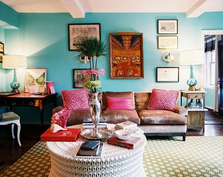 boho chic muebles estilos color decoraciones