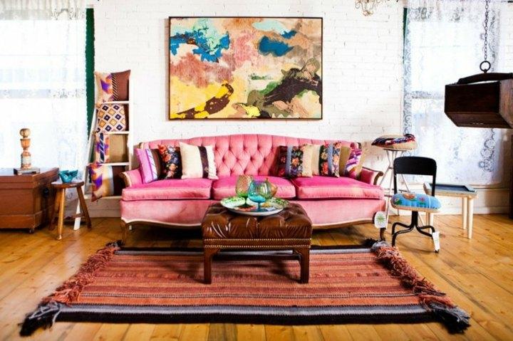 boho chic nohemio femenino elegante muebles
