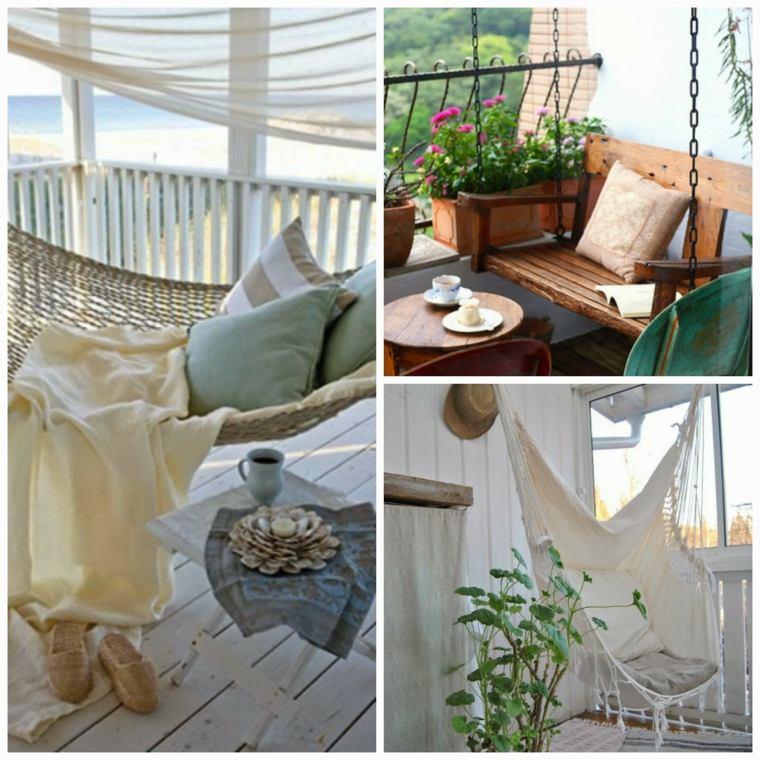 boho estilo decorar balcón