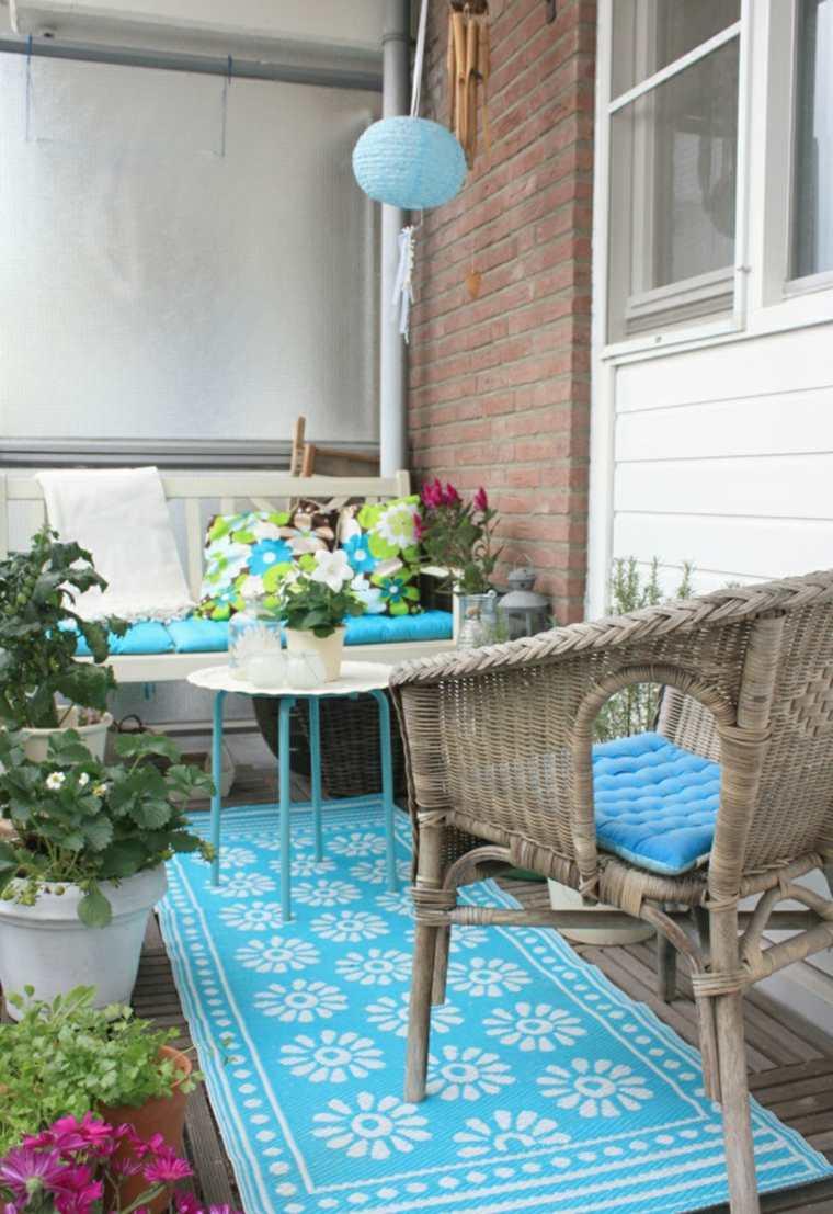 boho estilo decorar terraza