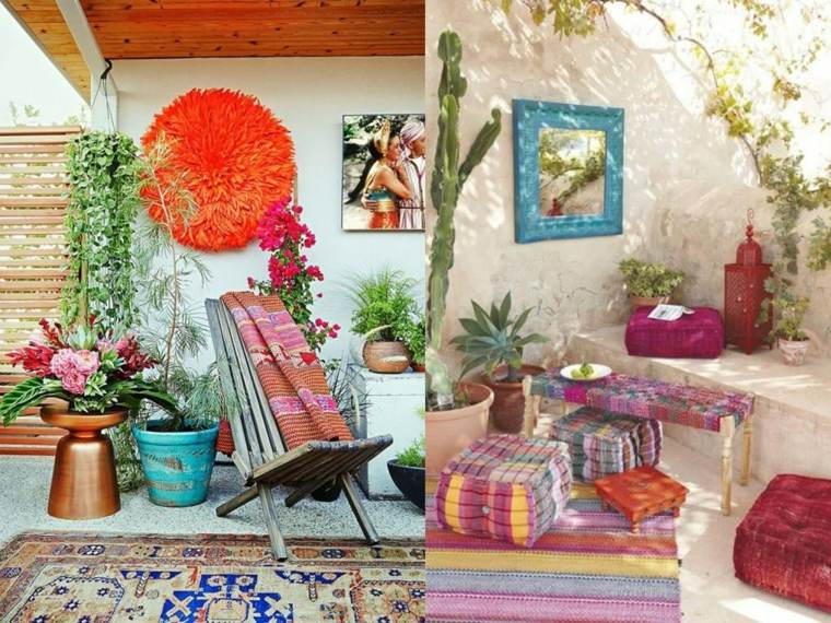 boho estilo decorar