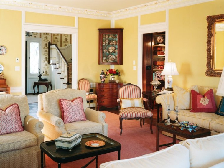 bonito salon estilo clásico