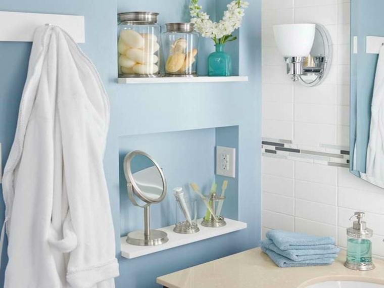bonita decoración cuarto bano