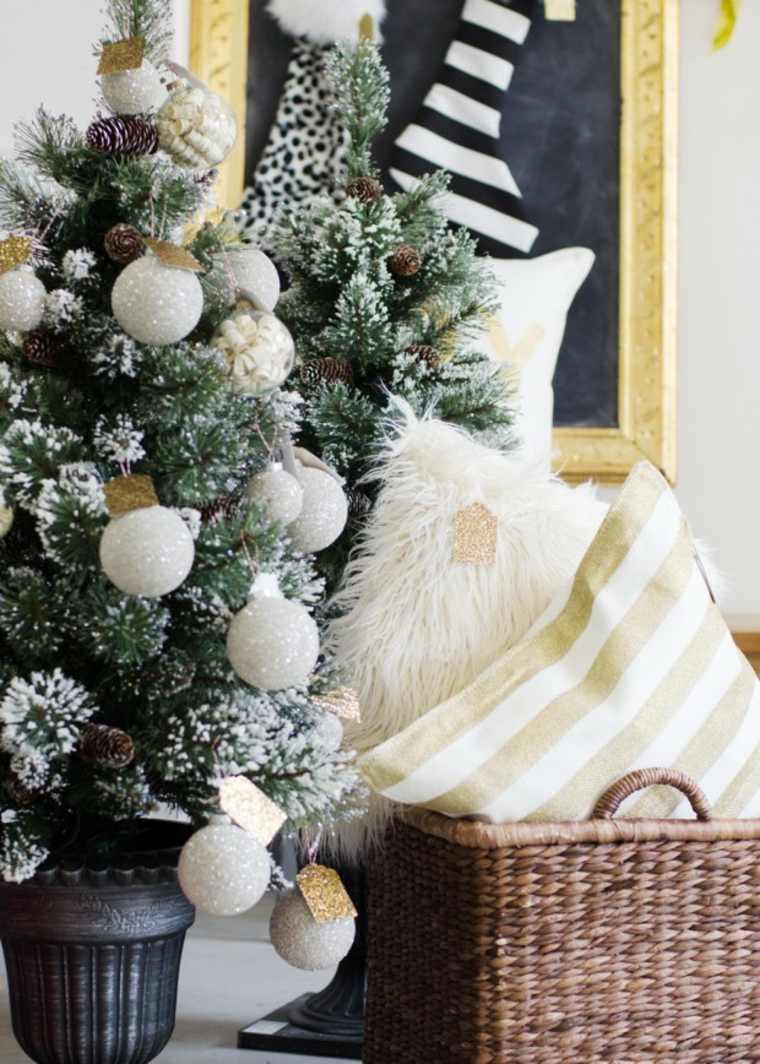 bonita decoracion navidad moderna