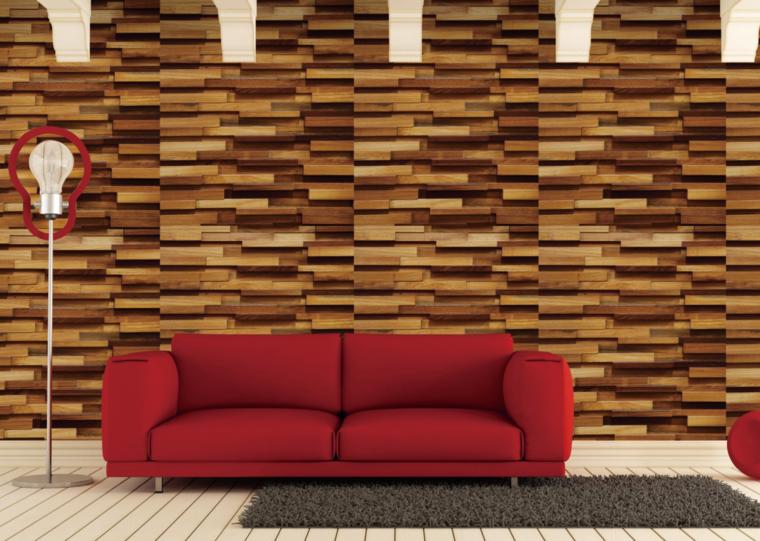 bonitas paredes acento moderno madera