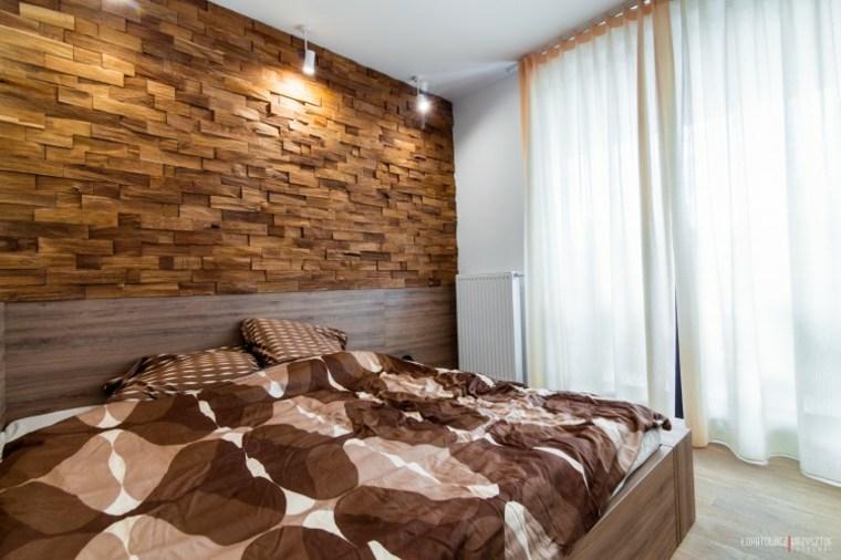 bonito diseño pared dormitorio