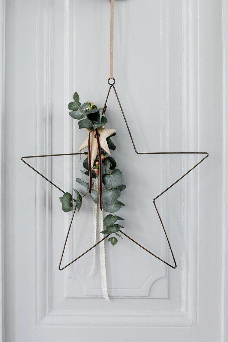 bonito adorno de Navidad estrella