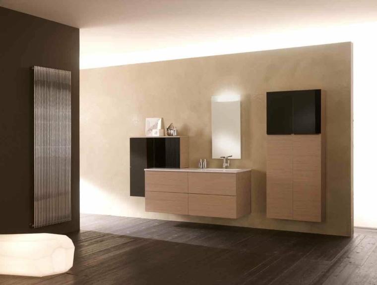 bonito conjunto muebles baño