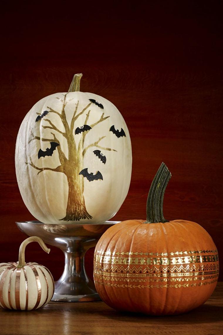 calabazas de halloween especiales colores