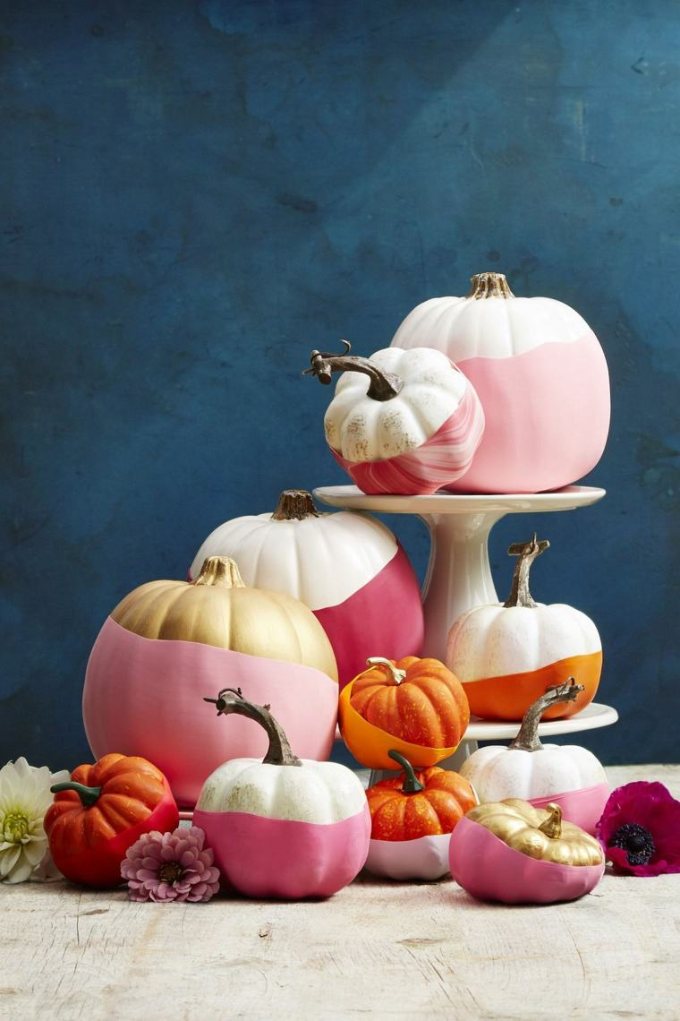 calabazas de halloween ideas especiales centros
