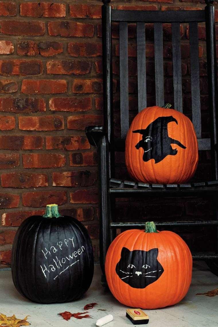 calabazas de halloween deas muebles ladrillos