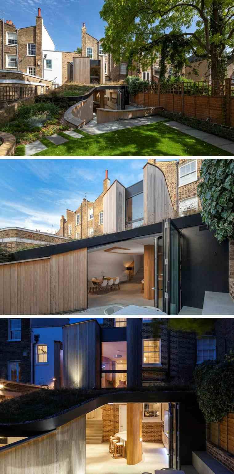casa británica estilo moderno