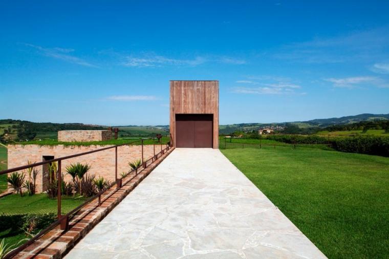 casa de campo brasil diseno jardin ideas