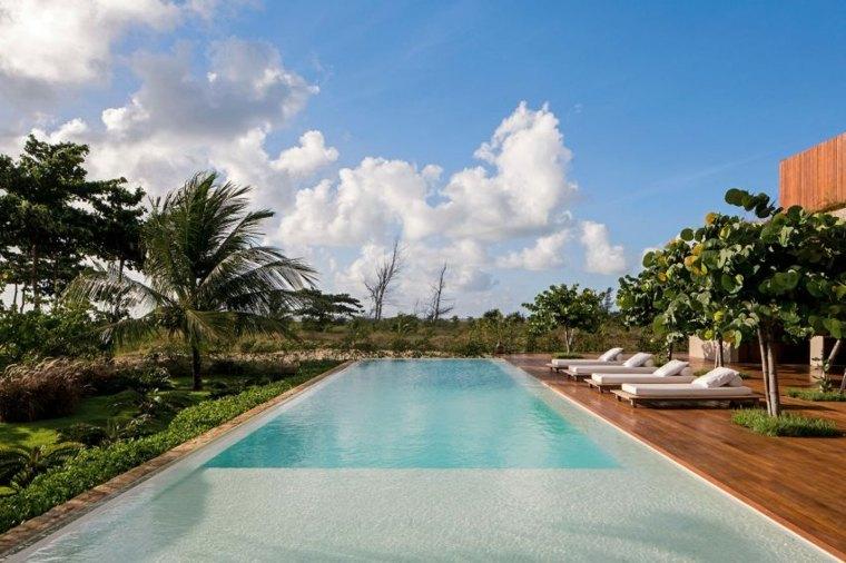 casa en la playa brasil diseno jardin piscina ideas