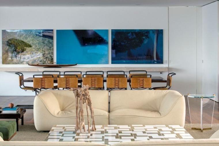 casa en la playa brasil diseno salon comedor ideas