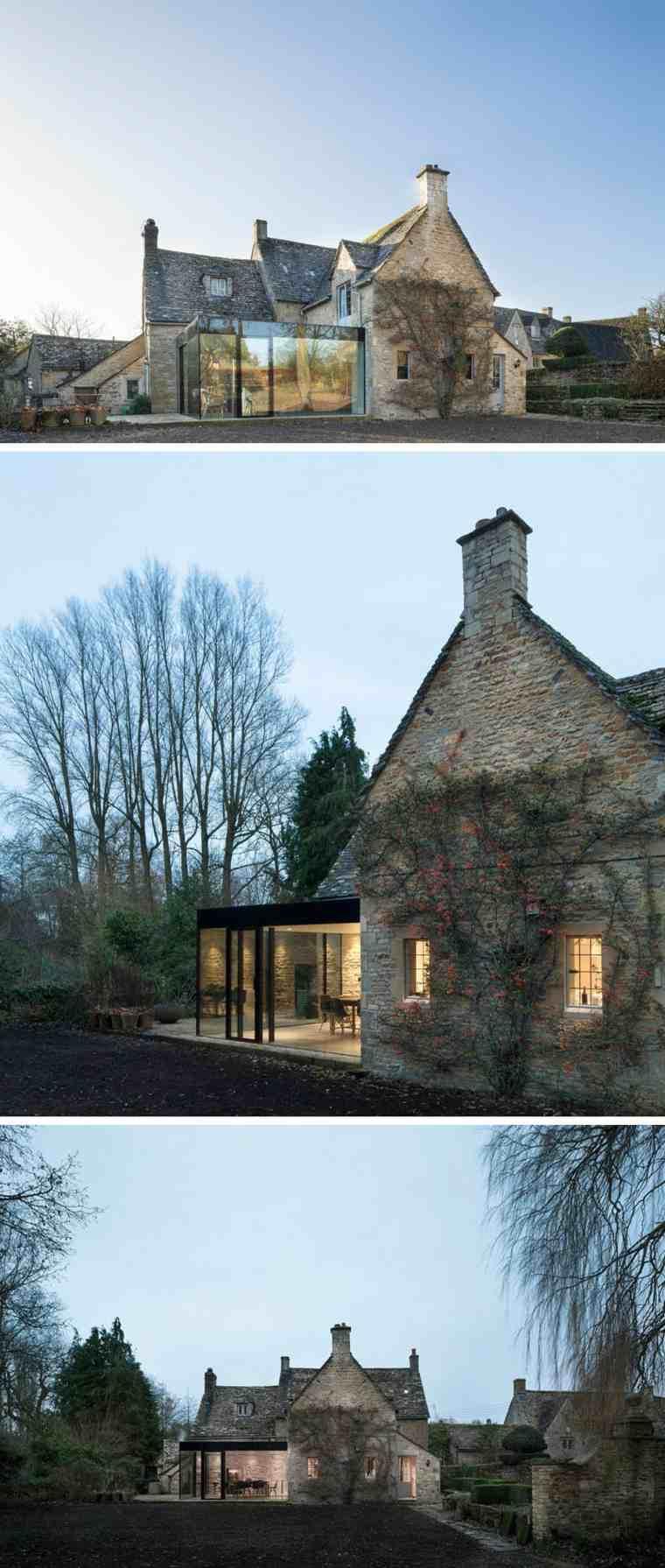 casas modernas diseno con jardin