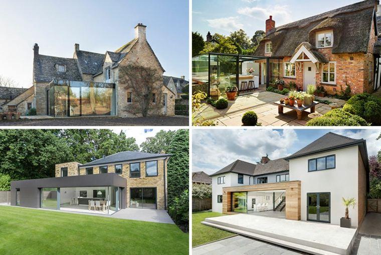 casas modernas estilo británico