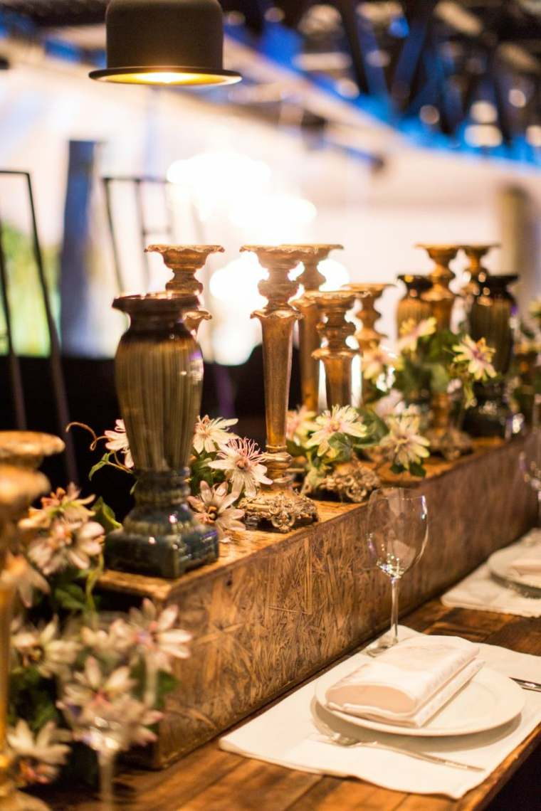 Como hacer un centro de mesa facil y bonito con adornos for Como hacer un centro de mesa facil