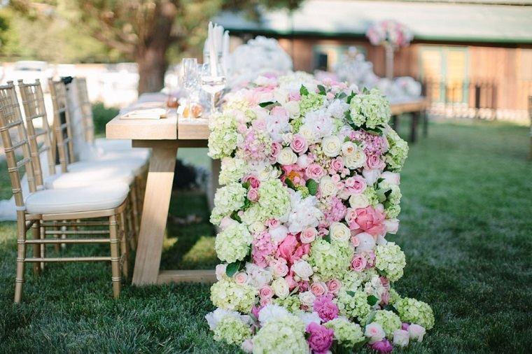 centro mesa diseno interesantes boda ideas