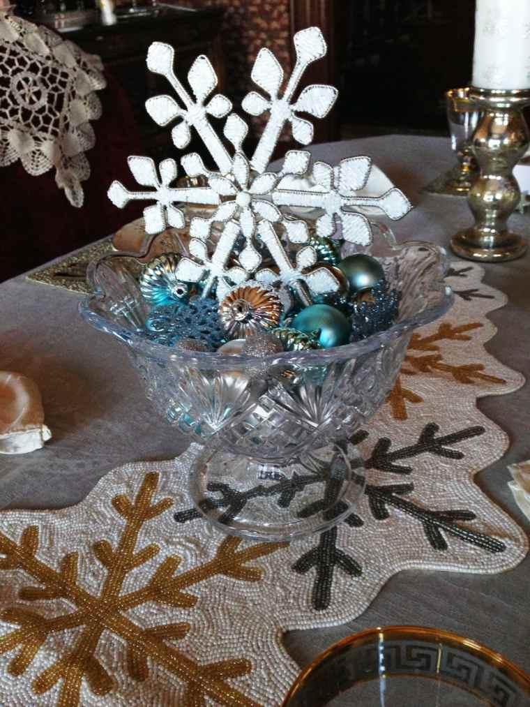 centros de navidad decorar mesa adornos navidenos ideas