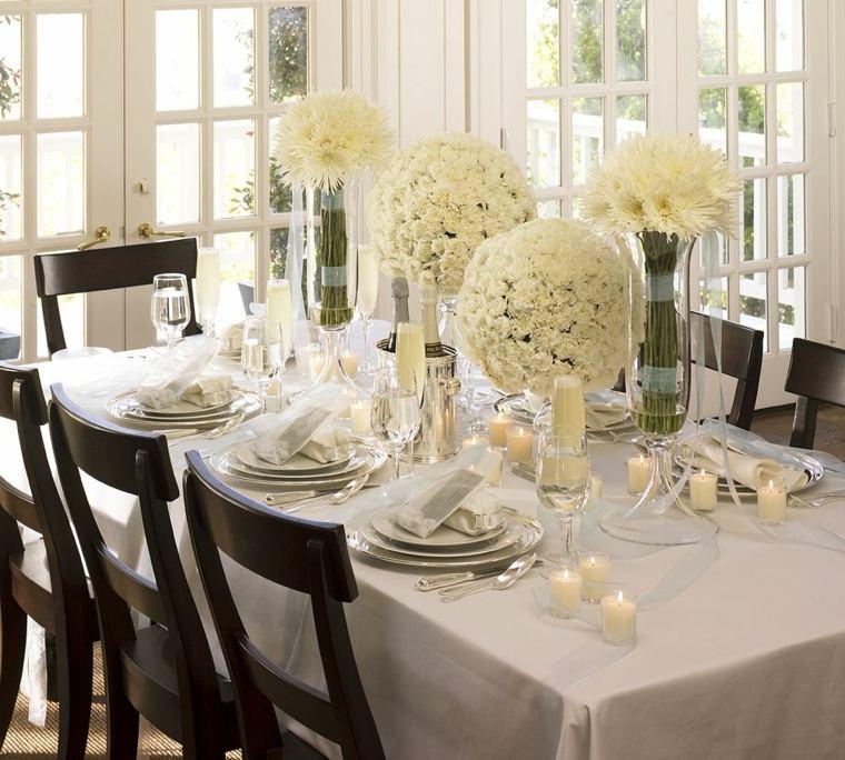 Centros de navidad para decorar la mesa con estilo for Centros de mesa navidenos elegantes