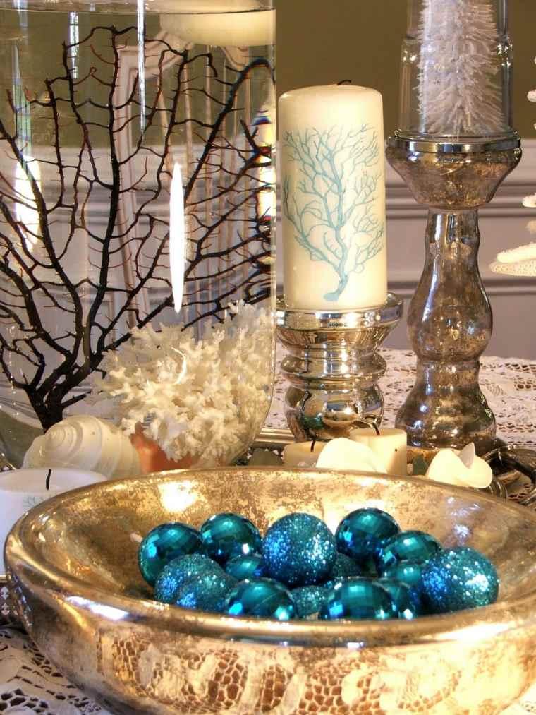 Centros de navidad para decorar la mesa con estilo - Como hacer un centro de mesa navideno ...