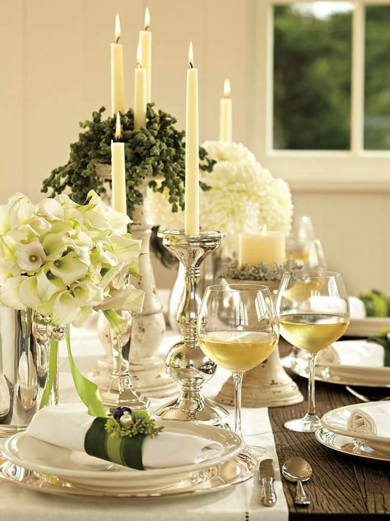 Centros de navidad para decorar la mesa con estilo - Decorar mesa navidad ...