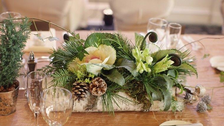 centros de navidad decorar mesa opciones ideas