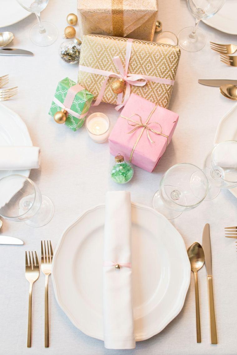 centros de navidad decorar mesa regalos navidenos ideas