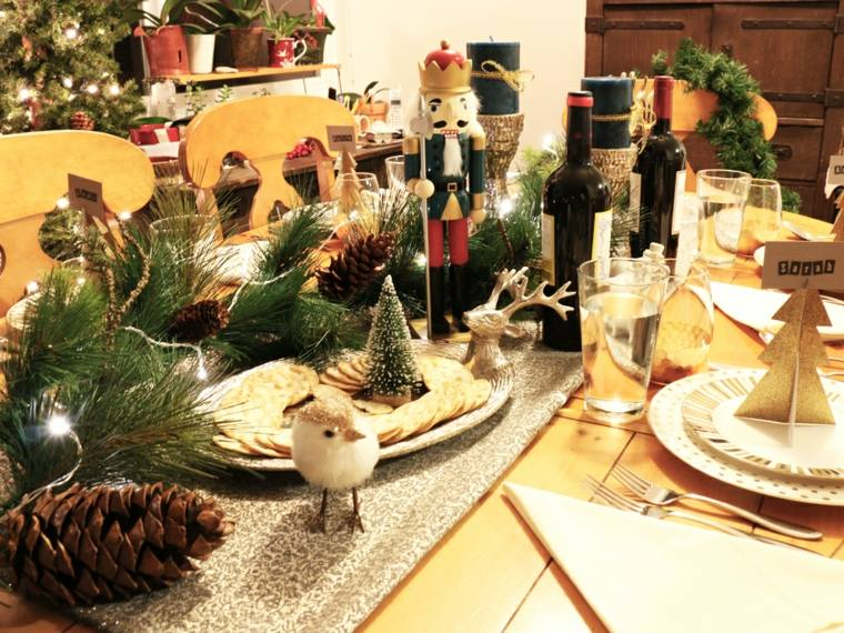 centros mesa originales motivos navidenos
