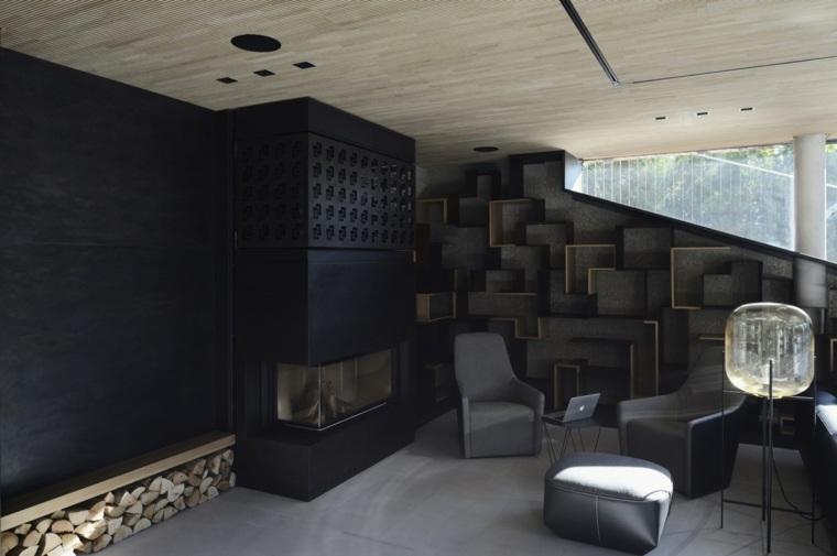 arquitectura y diseño chimeneas ideas