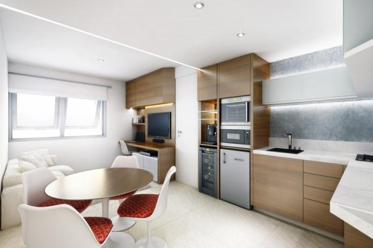 cocina muebles madera laminada