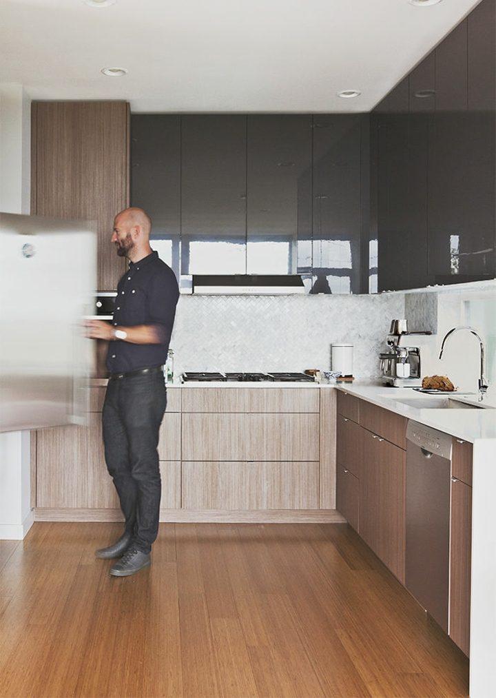 cocinas distribucion muebles paredes pequeñas