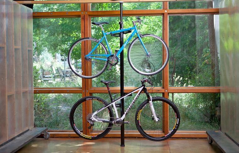 colgador para bicicletas interior