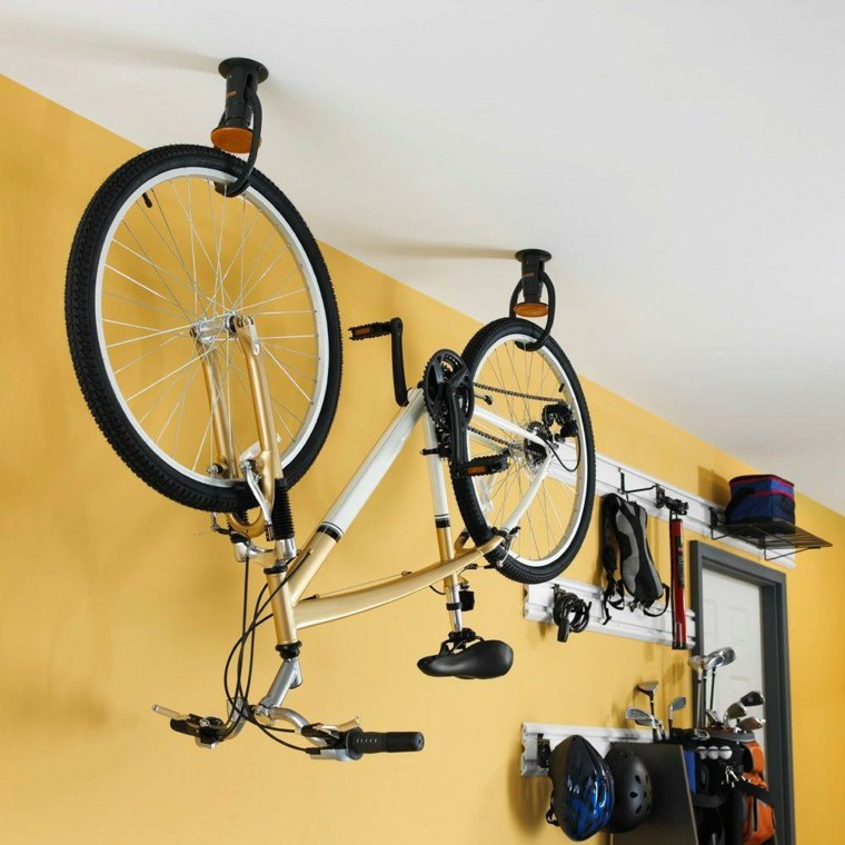 Guarda bicicletas, ideas originales e interesantes