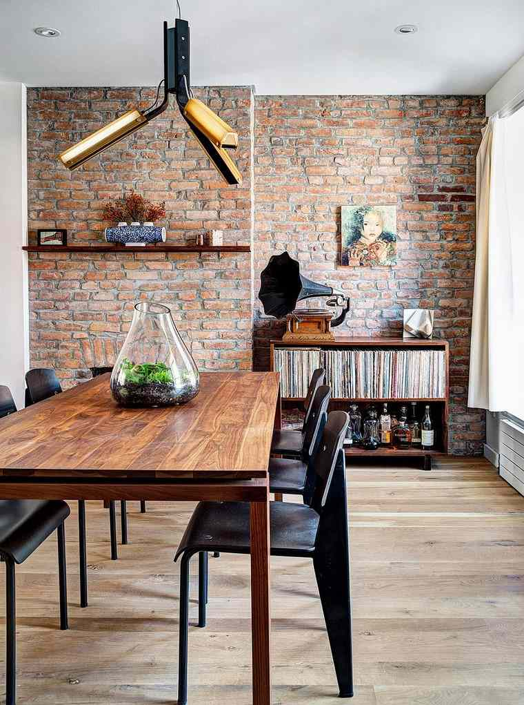 comedor diseno original espacio pequeno ideas