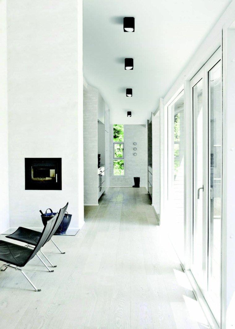 Decorar pasillos estrechos con diferentes ideas y estilos for Como decorar un pasillo estrecho